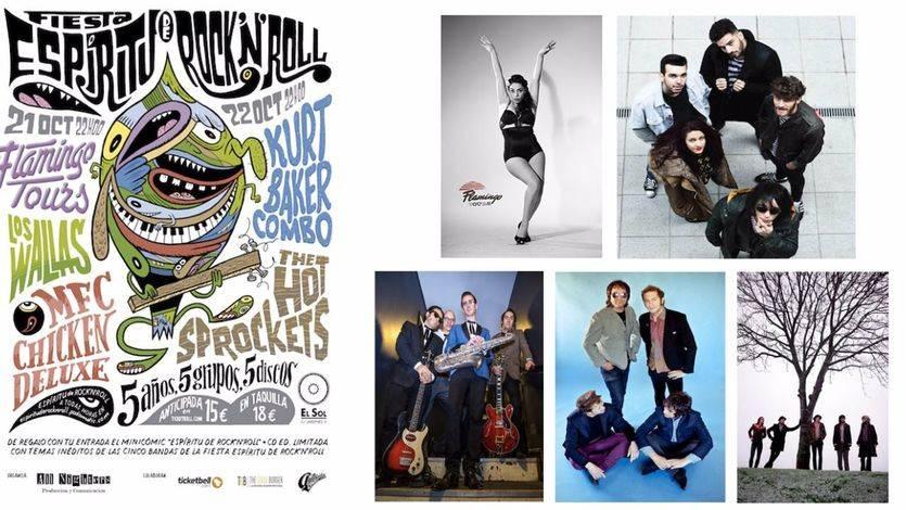 Madrid acoge la quinta Fiesta Espíritu de Rock'N'Roll