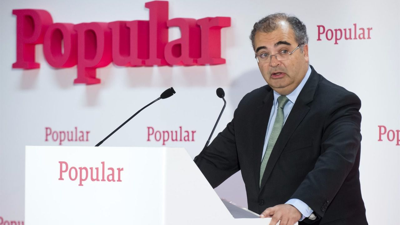 Banco Popular retomará el pago del dividendo con un 'pay out' en efectivo del 40% en 2018