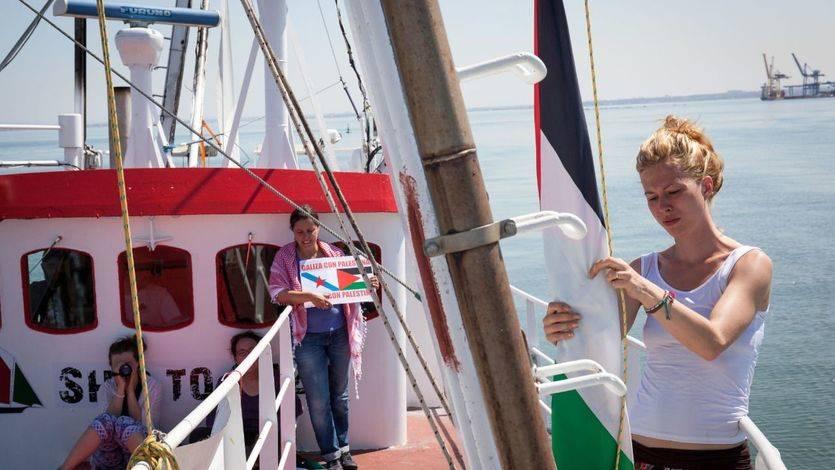 Israel intercepta el velero de 'Mujeres Rumbo a Gaza' y detiene a las 13 pasajeras