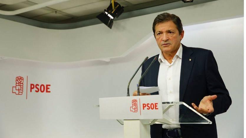 Javier Fernández se niega a que el PSOE dé a Rajoy estabilidad para gobernar