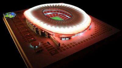 Vea cómo será la revolucionaria iluminación de La Peineta, el futuro estadio del Atlético de Madrid