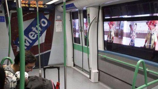 Metro de Madrid inaugura un sistema de publicidad