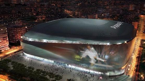 El 'nuevo' Bernabéu perderá la esquina pero ganará una modernísima cubierta retráctil