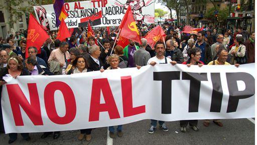 Más de 1.300 organizaciones salen a la calle para defender un planeta sin pobreza y sin los tratados CETA-TTIP-TISA