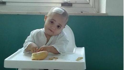 Ana, 16 meses y en lucha por su vida por un extraño y agresivo tumor cerebral