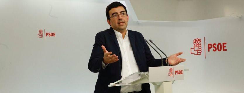Mario Jiménez, número 2 de la gestora del PSOE y de Susana Díaz.