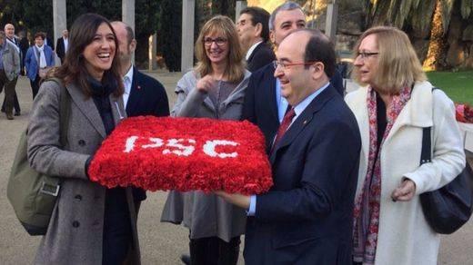 Núria Parlon y Miquel Iceta se disputan el liderazgo del PSC en unas primarias ejemplares