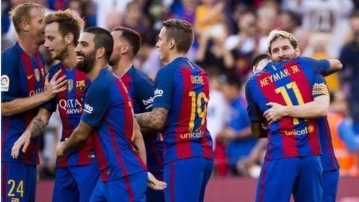 El Barça se recrea con el Depor para celebrar el regreso de Messi (4-0)