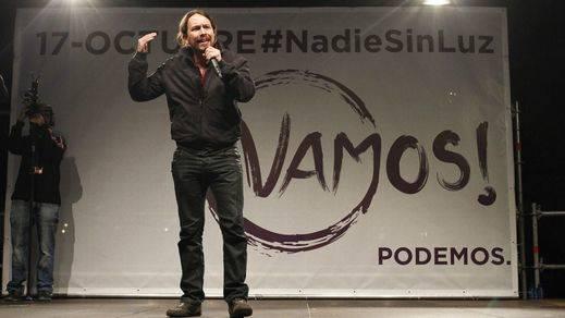 Pablo Iglesias vuelve a pisar la calle para hacer campaña contra la 'gran coalición'