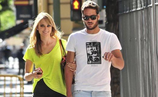 Alba Carrillo y Feliciano López cuando aún estaban juntos