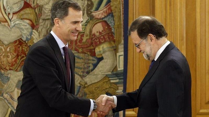 El Rey también acelera para que haya Gobierno: en la tarde del martes 25 cerrará con Rajoy la ronda de consultas