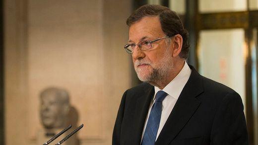 Rajoy saluda la