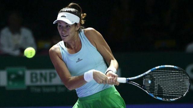 Muguruza ratifica su pésimo momento con una derrota inicial en las Finales de la WTA