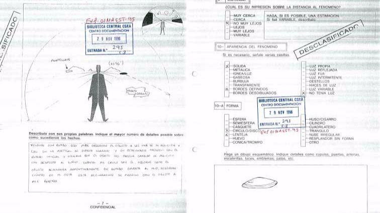 El último ovni visto y desclasificado en España era 'aficionado' a la Vuelta Ciclista