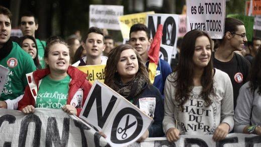 Huelga de enseñanza 26-O: así se ha vivido en toda España