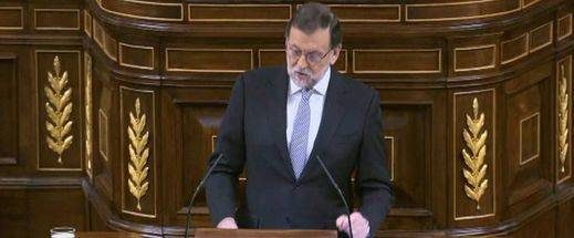 Rajoy 'agradece' su investidura a