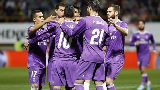 Copa del Rey: el Real Madrid 'B' le hace 'un siete' a la Cultural (1-7)