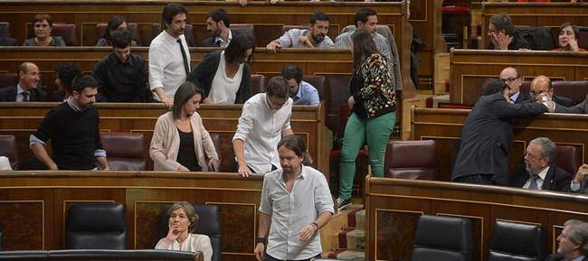 Bronca en el Congreso: Podemos abandonó el Pleno para protestar contra Ana Pastor