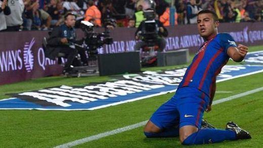 El tridente naufraga pero Rafinha salva al Barça ante el colista Granada (1-0)