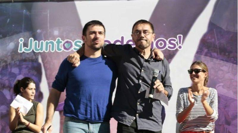 Monedero convierte las primarias de Podemos Madrid en un plebiscito sobre Iglesias