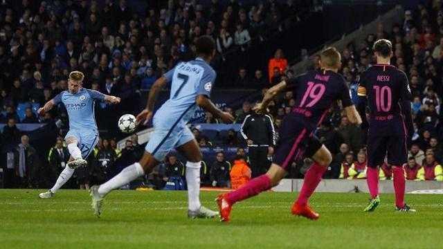 Guardiola, por fin, gana a un equipo español: el City remontó al Barça (3-1)