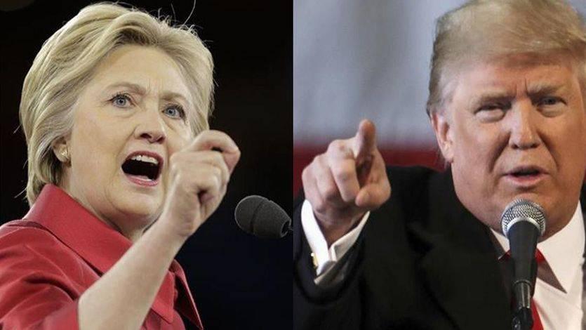 El mundo tiembla: un sondeo electoral sitúa ya a Trump por encima de Clinton