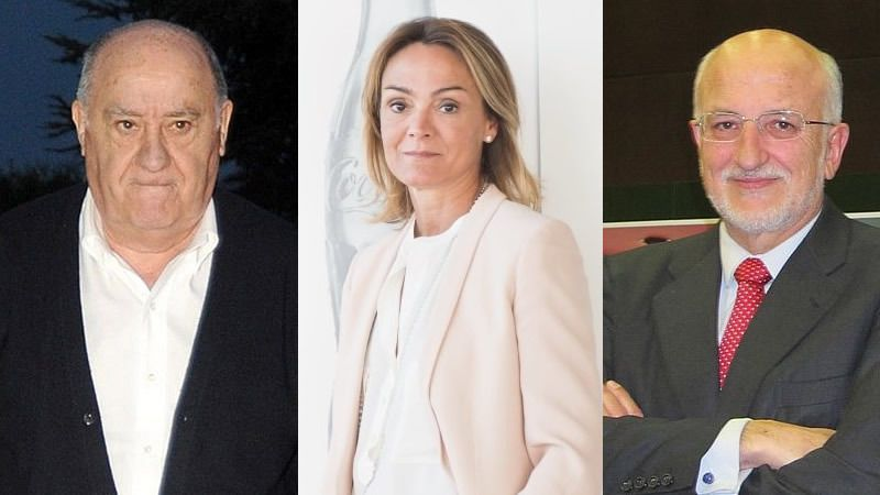 Éstos son los hombres y las mujeres más ricos de España