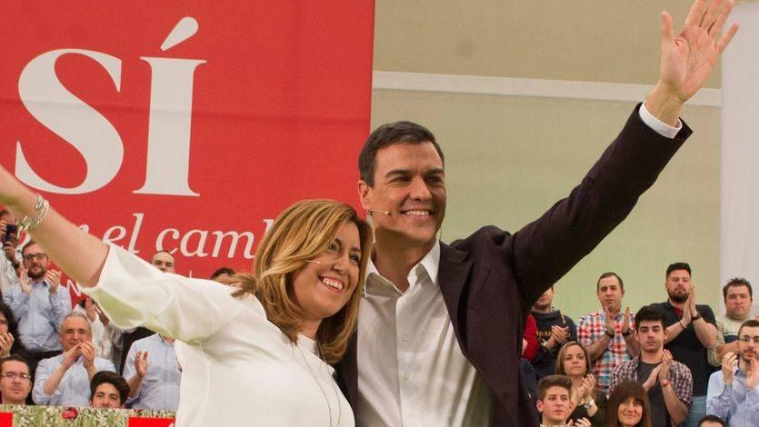 La respuesta de Susana Díaz a Pedro Sánchez: no es momento de 'proyectos personalistas'