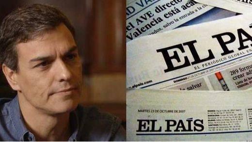 'El País' contraataca a Sánchez al que achaca una