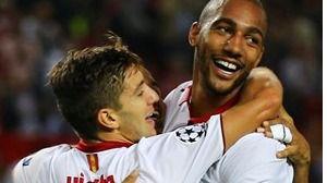 Champions: el 'euroSevilla' sigue de fiesta con una goleada al Dinamo que le mete en octavos (4-0)