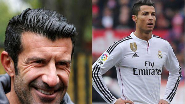 Figo lo tiene muy claro: 'No hay dudas de que Cristiano Ronaldo ganará el Balón de Oro'