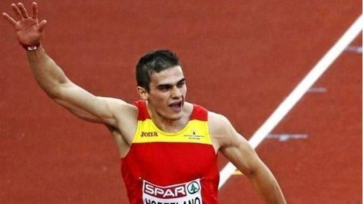 Bruno Hortelano ya corre y se vuelve a 'sentir atleta'