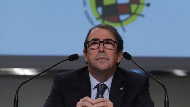 Jorge Pérez carga contra su exjefe: 'La Federación de Villar es un barco a la deriva'