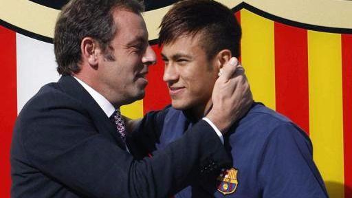 Neymar, Bartomeu y el Barça, procesados por estafa al fichar por el Barça