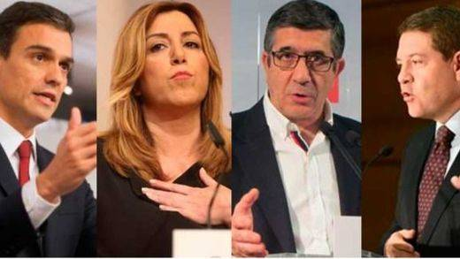 Carrera sucesoria en el PSOE: dirigentes que no dan un paso adelante y otros que lo dan hacia atrás