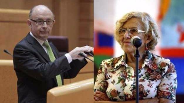 Nuevo capítulo de la guerra Montoro-Carmena por las cuentas de Madrid