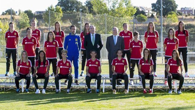 Un sorteo sin suerte: duro grupo para la Roja femenina en la Eurcopa 2017 de Holanda