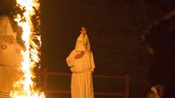 Polémica celebración de la victoria de Trump por parte del Ku Klux Klan