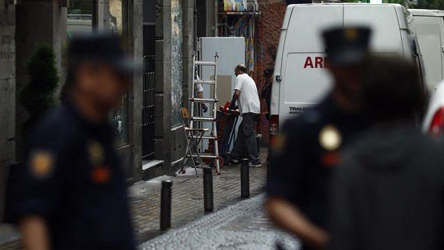 La policía desaloja la nueva sede okupada del Patio Maravillas