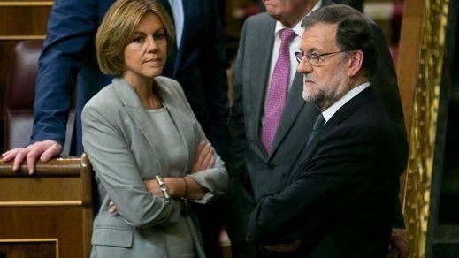 Rajoy deja en el aire la continuidad de Cospedal como número dos del PP