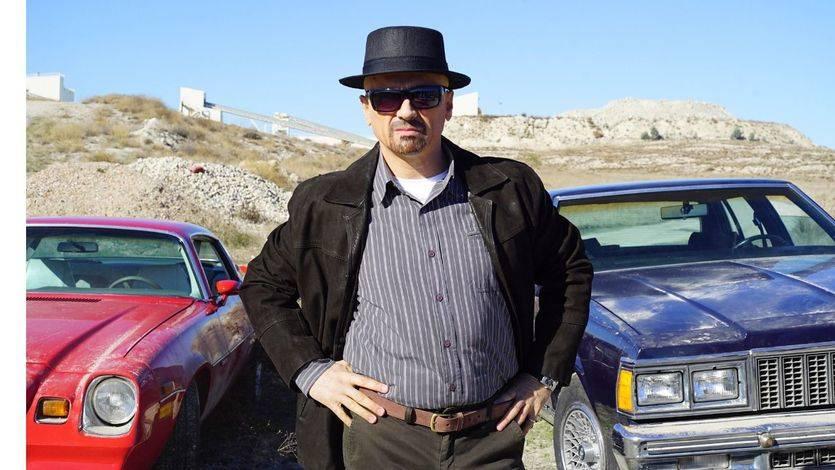 Jose Mota caracterizado de Walter White para el especial de Nochevieja