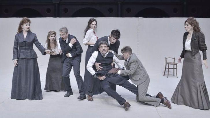 'Premios y castigos': juego actoral frente al público