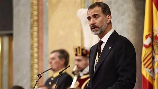 Felipe VI abre la nueva Legislatura pidiendo a todos los políticos