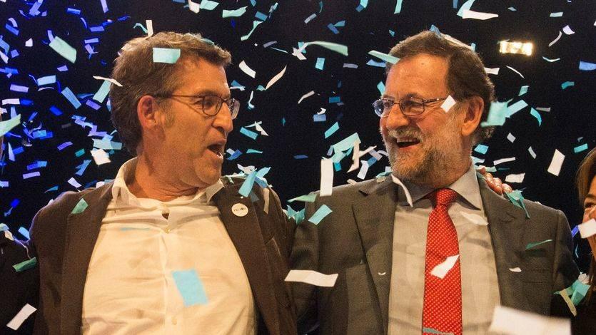 Feijóo intenta aparcar la rumorología sobre su futuro: 'El sucesor de Rajoy es Rajoy'
