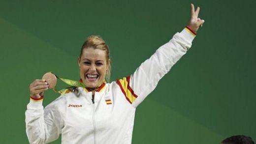 Lidia Valentín se acerca a la plata de los Juegos de Pekín al ser descalificada por dopaje Iryna Kulesha
