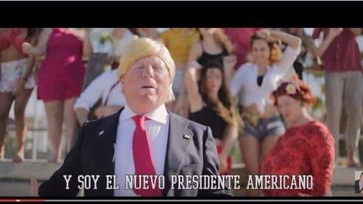 'Antonia vs Trump', el nuevo videoclip que 'Los Morancos' dedican al presidente de EEUU