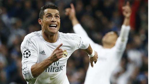 Cristiano, con su triplete en el Manzanares, caza a Messi y vuelve a postularse para el Pichichi