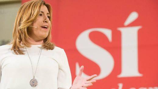 Susana Díaz se postula como lideresa del PSOE tras decir que es compatible con ser presidenta andaluza