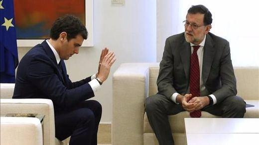 Rajoy desmiente a Ciudadanos sobre la posibilidad de aumentar el techo de gasto