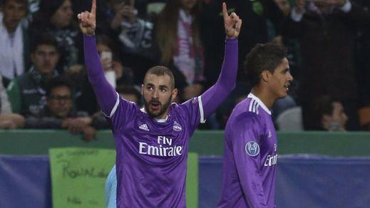 Champions: el Madrid suma y sigue: vence al Sporting de Lisboa y ya está clasificado para octavos (1-2)